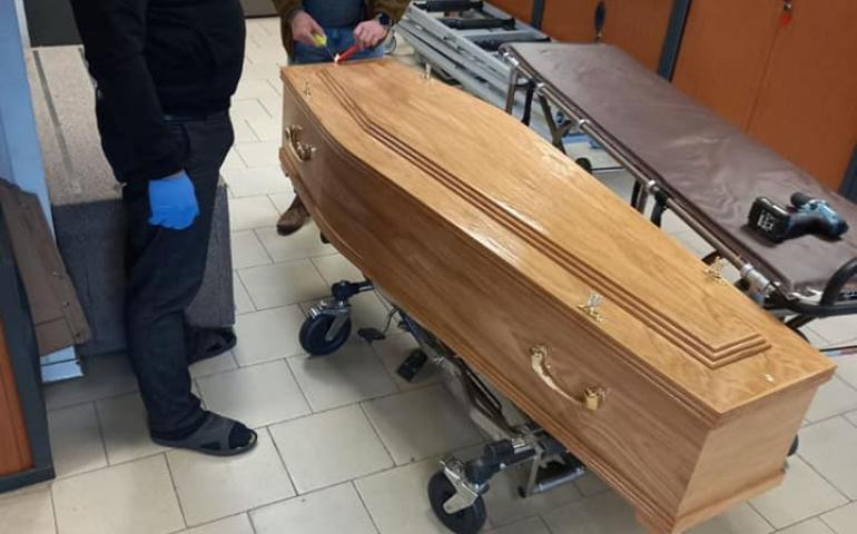 Перевезення померлих з Бельгії в Україну