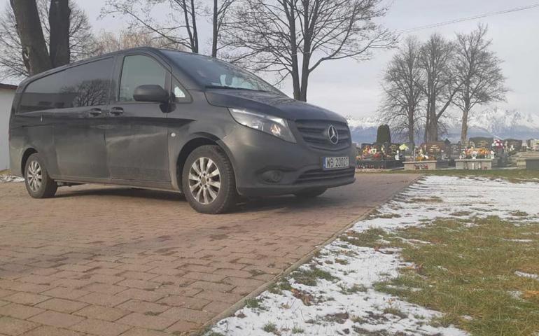 Перевезення померлих зі Словаччини в Україну