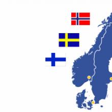 Перевезення померлих Швеція, Груз-200 Норвегія, Репатріація тіл померлих Швеція Норвегія Фінляндія