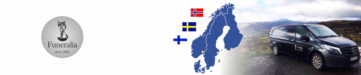 Repatriation of the deceased from/to Sweden, Norway, Finland